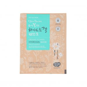 WHAMISA Organic Flowers & Aloe Vera Fermented Hydrogel Facial Mask