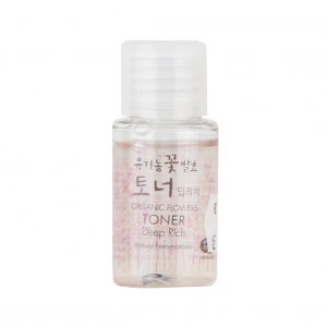 WHAMISA Organic Flowers Toner Deep Rich - Mini 20ml