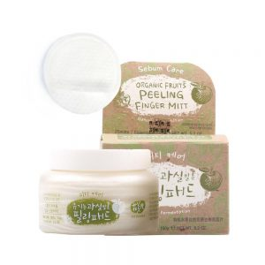 WHAMISA Organic Fruits Peeling Finger Mitt (Sebum Care)